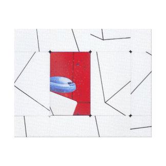 o foguete estraga o amor secreto impressão em canvas