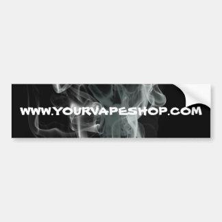 O fumo preto Vape compra o Web site promove Adesivo Para Carro