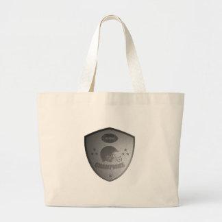 o futebol americano patrocina o protetor bolsas para compras