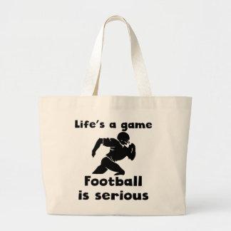 O futebol é sério bolsa