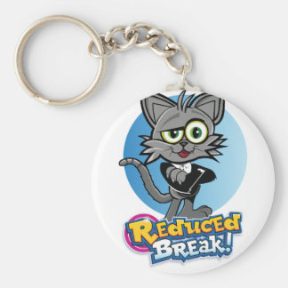 O gato louco reduzido da ruptura! chaveiro