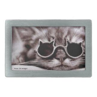 O gato o mais fresco vivo - fivela de cinto