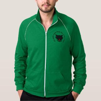 O gato tarde Fleece blusão desportivo Jaquetas Estampadas
