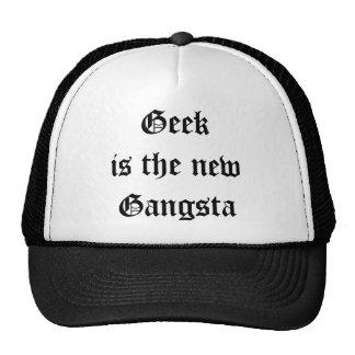 O geek é o chapéu novo do camionista de Gangsta Boné