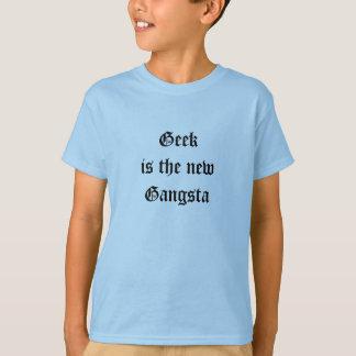 O geek é os meninos novos de Gangsta Camiseta