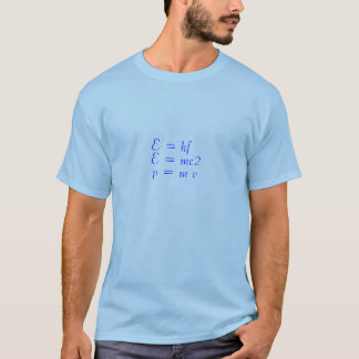 O geek fala a camisa de t