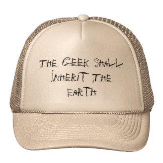 O geek herdará a terra boné