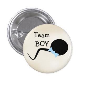 O género engraçado revela o botão do partido bóton redondo 2.54cm