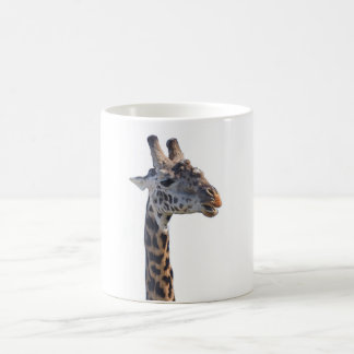 O girafa diz olá! caneca mágica