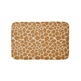O girafa mancha a esteira de banho tapete de banheiro