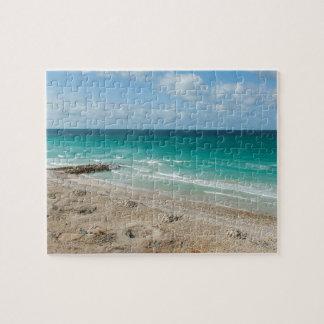 O Golfo de Áden, praia, ilha de Socotra, Yemen Quebra-cabeça