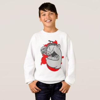 O grafite caçoa Swearshirt: Estada Hip Hop real Camisetas