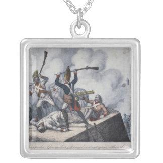 O granadeiro prussiano colar personalizado