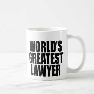 O grande advogado do mundo caneca de café