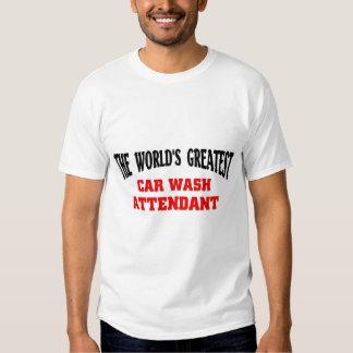 O grande assistente do lavagem de carros camiseta
