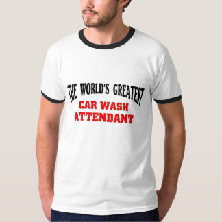 O grande assistente do lavagem de carros camisetas