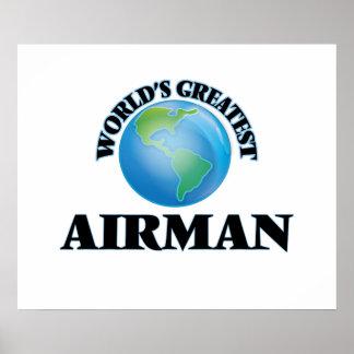 O grande aviador do mundo posteres