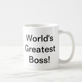 O grande chefe do mundo caneca