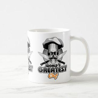 O grande cozinheiro chefe v4 do mundo caneca de café