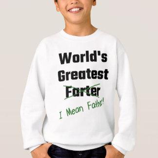 O grande Farter do mundo eu significo o pai T-shirt