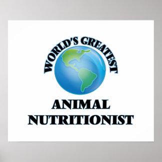 O grande nutricionista animal do mundo pôsteres