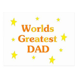 O grande pai dos mundos cartão postal