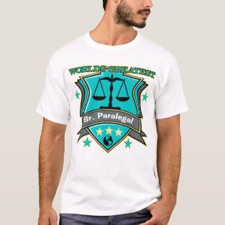 O grande Sénior do mundo legal. Paralegal Camiseta