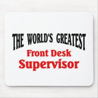 O grande supervisor da recepção mouse pad