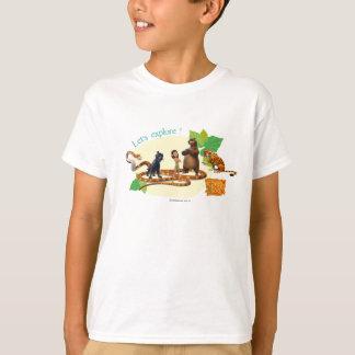 O grupo do livro da selva disparou em 4 camiseta
