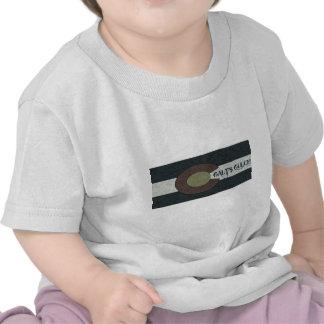 O Gulch de Galt - design combinado branco e azul Camisetas