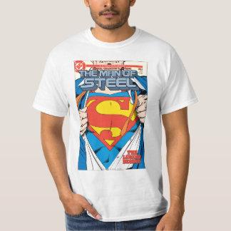 O homem da edição do coletor #1 de aço t-shirt