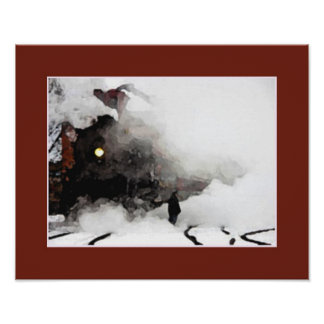 O homem & o trem pôster