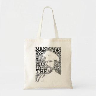 O homem que não lê o bolsa