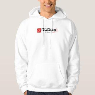 """O Hoodie branco de RUDOS """"nós amamos Puro"""" Moletom"""