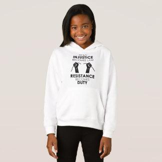 O Hoodie da menina da injustiça T-shirt
