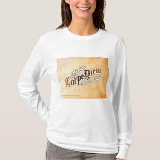 o hoodie das mulheres do diem do carpe tshirt