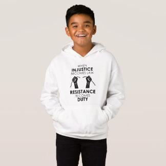 O Hoodie do menino da injustiça Camisetas