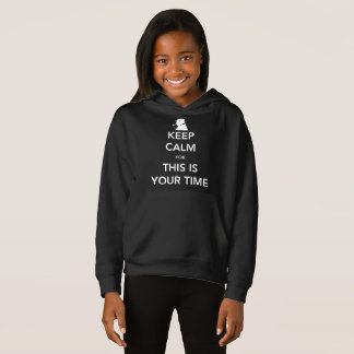 O Hoodie escuro da sua menina do tempo T-shirt