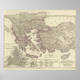 O império bizantino até o Xite Poster