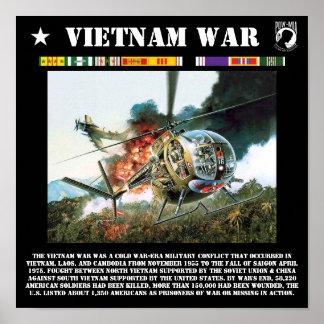 O impressão da guerra do vietname