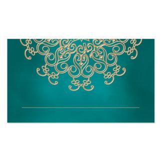 O indiano da cerceta e do ouro inspirou o cartão cartão de visita