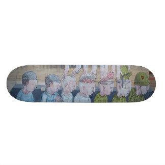 O Indoctrinator - plataforma da arte Sk8 da rua Shape De Skate 21,6cm