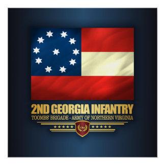 ò Infantaria de Geórgia Poster Perfeito
