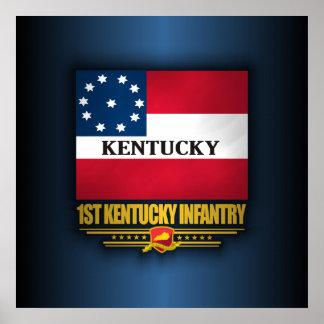 ø Infantaria de Kentucky Poster