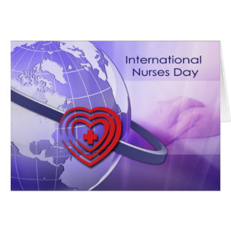 O International customizável nutre o cartão do dia