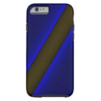 o iPhone 6 polícias do caso dilui Blue Line Capa Tough Para iPhone 6