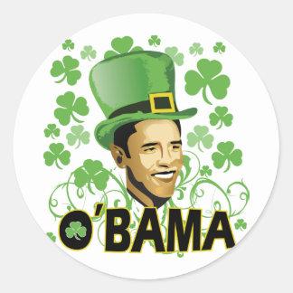 O irlandês O'Bama 2009 de St Patrick Adesivo