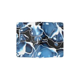 O irregular múltiplo deu forma ao azul, e o preto capa para passaporte