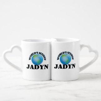 """O Jadyn o mais """"sexy"""" do mundo Caneca Para Namorada"""