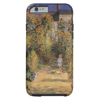 O jardim do artista em Vetheuil por Claude Monet Capa Tough Para iPhone 6